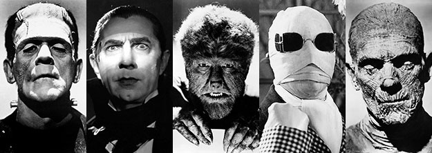 Beloved Horror: Universal Movie Monsters