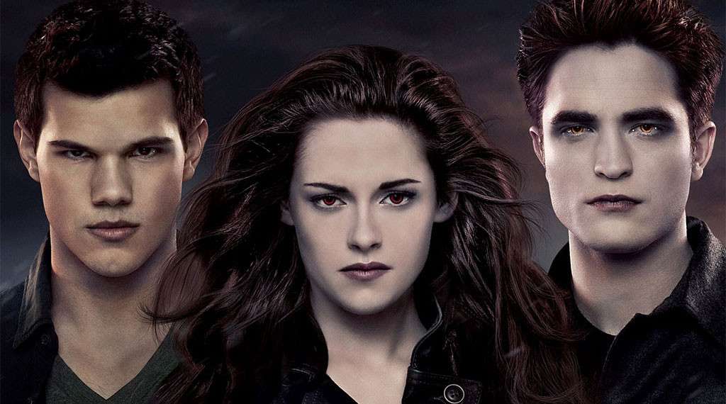 Taylor Lautner, Kristen Stewart and Robert Pattinson in 'The Twilight Saga: Breaking Dawn, Part 2'