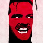 An illustration of Jack Nicholson in 'The Shining', an example of beloved horror