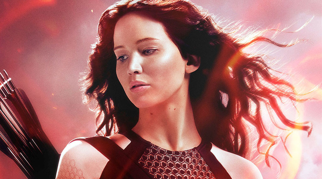 Jennifer Lawrence in 'The Hunger Games: Catching Fire'