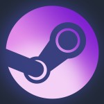 The icon representing Valve's Steam Universe of products