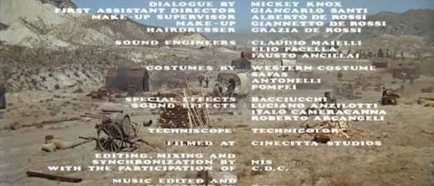 Once Upon a Time in the West End Credits