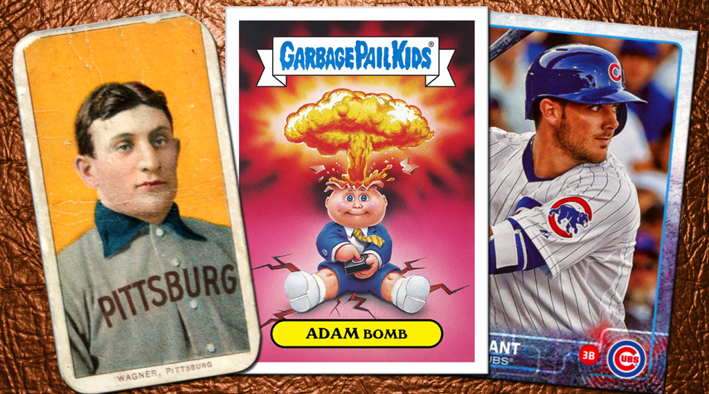 Collectible trading cards throughout history, including the Garbage Pail Kids. (SOURCE: Topps Corporation.)