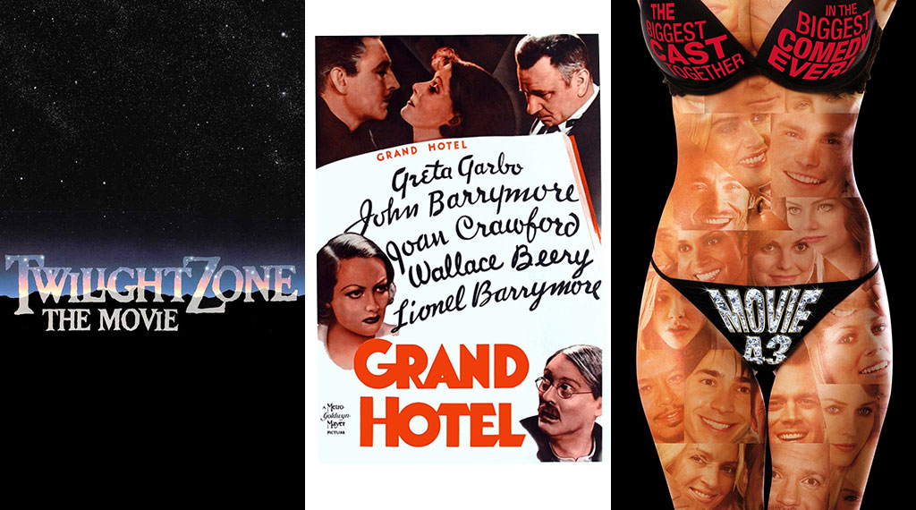 Anthology Films: 'Twilight Zone: The Movie', 'Grand Hotel', 'Movie 43'
