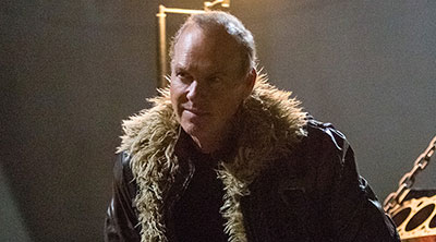 Michael Keaton as the Vulture in 'Spider-Man: Homecoming' (SOURCE: Sony Pictures)