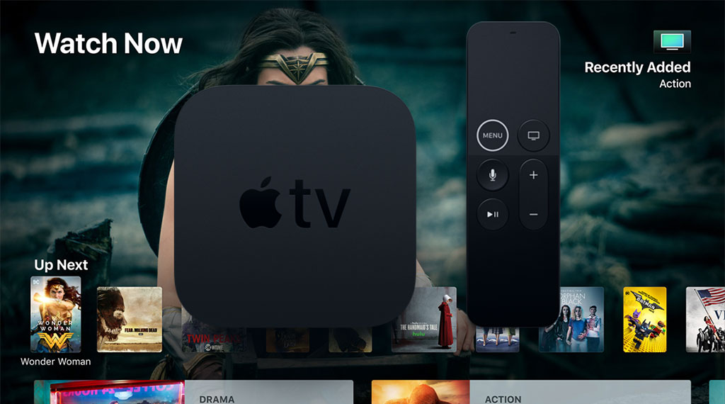 The Apple TV 4K, unveiled at the Apple Special Event on September 12th, 2017 (SOURCE: Apple)