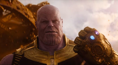 Thanos (Josh Brolin) in 'Avengers: Infinity War' (SOURCE: Marvel)