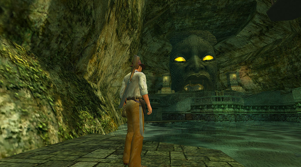 Indiana Jones and the Emperor's Tomb screenshot (SOURCE: LucasArts)