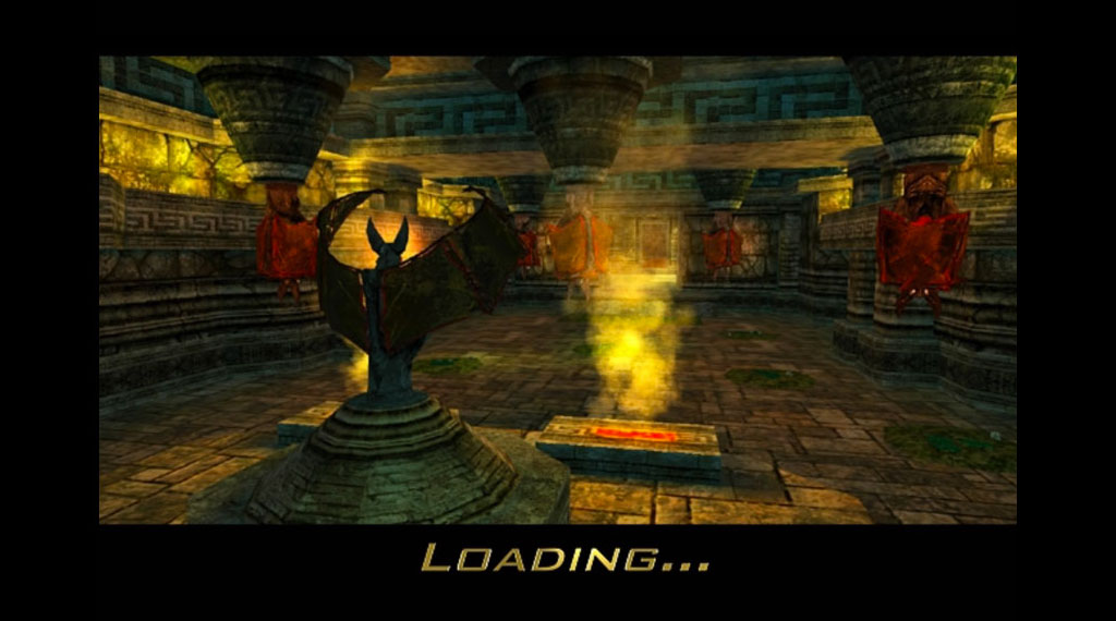 Indiana Jones and the Emperor's Tomb loading screen (SOURCE: LucasArts)