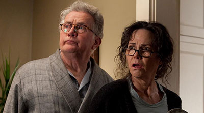 Ben Parker (Martin Sheen) and May Parker (Sally Field) in 'The Amazing Spider-Man' (SOURCE: Sony Pictures)