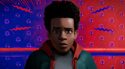 Miles Morales in 'Spider-Man: Into the Spider-Verse' (SOURCE: Sony Pictures)