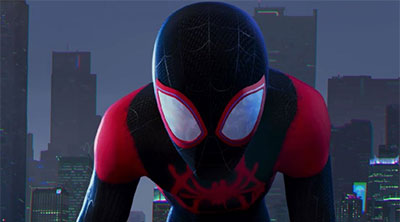 Miles Morales Spider-Man in 'Spider-Man: Into the Spider-Verse' (SOURCE: Sony Pictures)