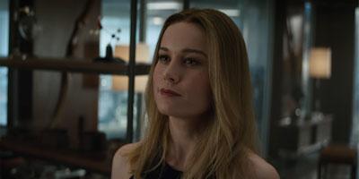 Carol Danvers (Brie Larson) in 'Avengers: Endgame' (SOURCE: Marvel Studios)